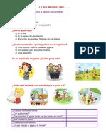 diagnostico de estilos de aprendizaje y carcateristicas de primer grado