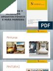 Materiales y Acabados Arquitectònicos Para Paredes