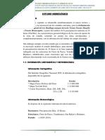 Estudio Hidrologico Delimitacion Faja Marginal Rio Huallaga - Ambo