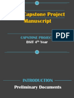 BSIT Capstone Project Manuscript Guidelines (Final)