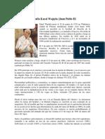 Juan Pablo II Biografia