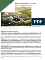 Consórcios Públicos de Saneamento No Brasil