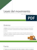 3.2 Leyes Del Movimiento