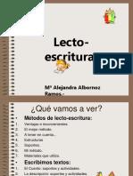 lectoescritura wueno