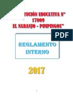 Reglamento Interno 2017 Luis