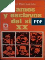 Traian Romanescu - Amos y Esclavos Del Siglo XX.pdf