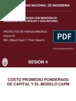 03 Costo Promedio Ponderado Capital y CAPM