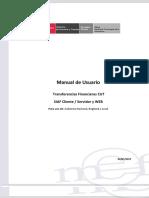 Manual de Usuario – Transferencias Financieras CUT