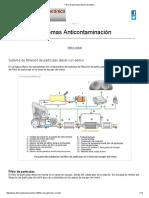 Conceptos de Filtro de Particulas Diesel Con Aditivo