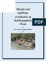 Thunder and Lightning a Collection of Autobiographical Poems
