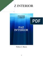Paz Interior - Fulton J. Sheen