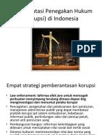 Implementasi Penegakan Hukum Korupsi Di Indonesia.pptx