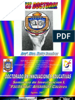 Presentacion Tesis Doctoral Arqº Katty Ramirez. AGREGAR