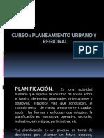 Primera Clase Planeamineto Urbano y Regional