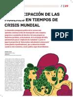 La Emancipacio_n de Las Mujeres en Tiempos de Crisis Mundial