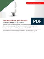 BSI ISO50001 Assessment Checklist UK En