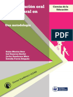 Libro Comunicación Oral Intercultural en Español
