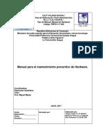 Manual Listo Con Nuevo Formato 2017 Para La Presentacion de Hardware