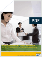 Application (Solution) Consultant Sap Scm Mm