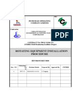 PDOC-476-CTRU-06 Rotating Equipment Installation Procedure