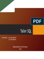 Taller SQL