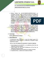 Investigacion y Reconstruccion de Accidentes de Transito Caso Silva