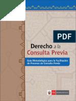 Guia Metodologica Para La Facilitacion de Procesos de Consulta Previa