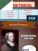 Hukum Pascal - Presentasi