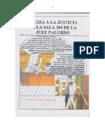 PALIZA A LA JUSTICIA EN LA SALA 304 DE LA JUEZ PALURDO