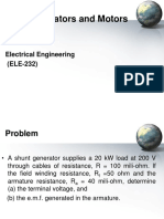 Electrical Engineering Dc Generators and Motors Part 2
