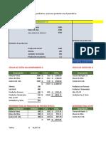 Ejercicio en Clase costos