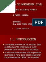Clase 1 - Madera