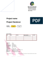 Project Handover Document