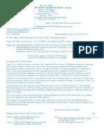 Surrender Cover Letter