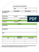Root Cause Analysis Template 43