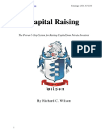 Capital Raising Book by Richard C Wilson