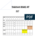 Jadual Penggunaan Bengkel Rbt