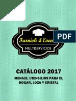 CATÁLOGO 2017 CRISTAL, LOZA Y UTENSILIOS DE COCINA.pdf