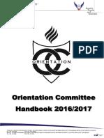 MMU ORIENTATION 2016 HANDBOOK