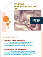 Critical Care Management