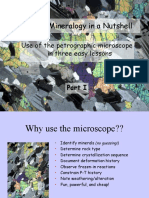 Optical Mineralogy Tutorial 1