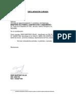 DJ Abtecedentes Policiales y Penales AYMAÑA