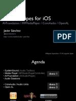 Audio Recipes for iOS