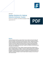 NetApp Solutions for Hadoop Reference Architecture