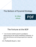 13 the Bottom of Pyramid Strategy(BOP)