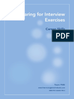 8_Career Skills - Preparing for Interview Exercises