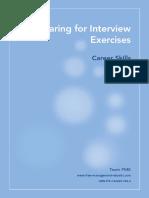8_Career Skills - Preparing for Interview Exercises