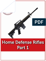 Home Defense Rifle Part 1