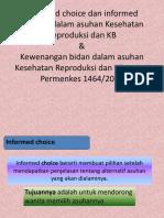 Informed Choice Dan Informed Consent Dalam Asuhan Kesehatan