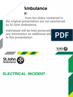 Electric Shock Presentation Resource 2016